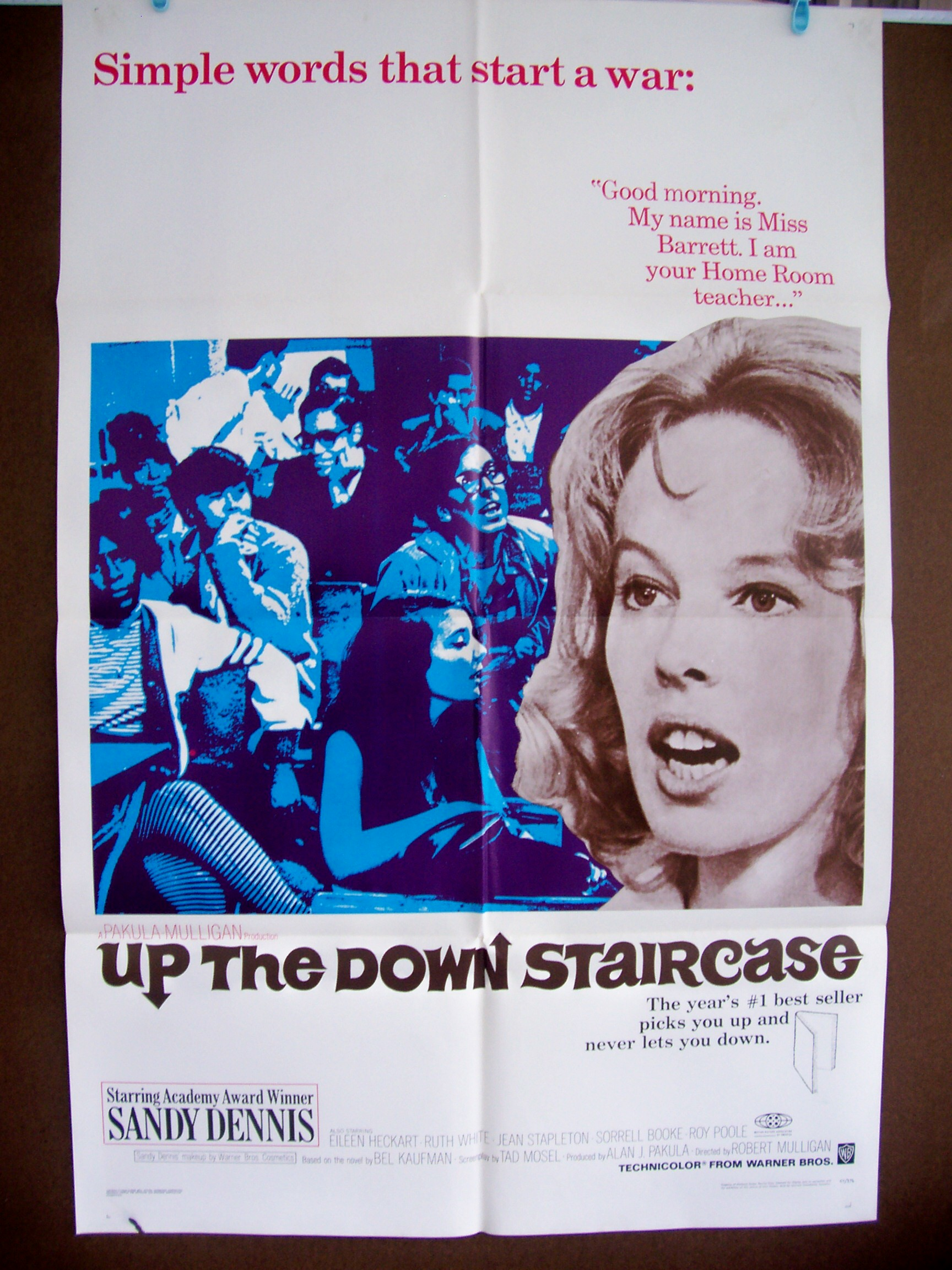 up the down staircase essay Up the down staircase the text under analysis is written by an american writer bel kaufman the given extract deals with the experiences of a young high.
